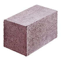 BETARD F 24x24x38 cm lättklinkerblock, lecablock, light expanded clay aggregate concrete, LECA block for foundation walls