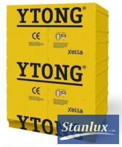 YTONG-BLOCKET, YTONG ENERGO 24 cm S+GT class PP2/0,35, lättbetong, celular concrete, aerated concrete, suporex, siporex, airbrick, brick, hollow brick, hollow tile, Xella