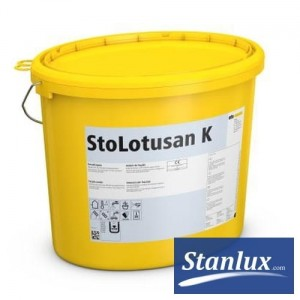 STO StoLotusan K the topcoat plaster with lotus effect