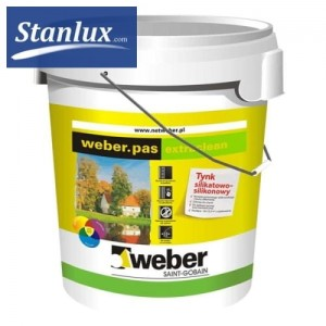 WEBER Weber.pas extraclean silicate-silicone plaster