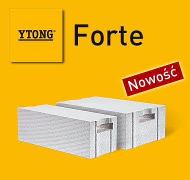 YTONG FORTE 24 cm S+GT PP2,5/0,4 (class 400) lättbetong, celular concrete,  aerated concrete, suporex, siporex, airbrick, brick, hollow brick, hollow